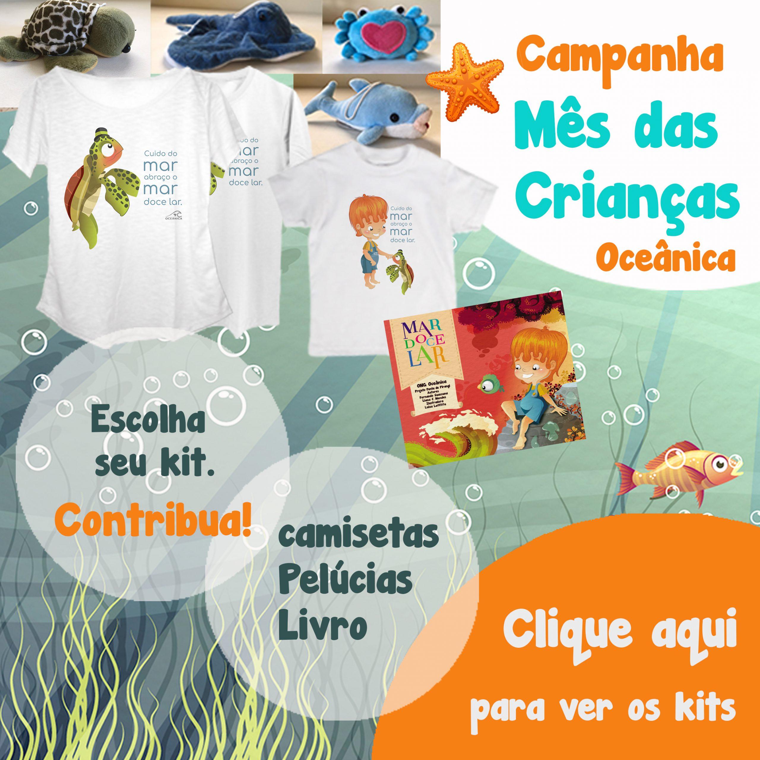Oceânica campanha mês das crianças